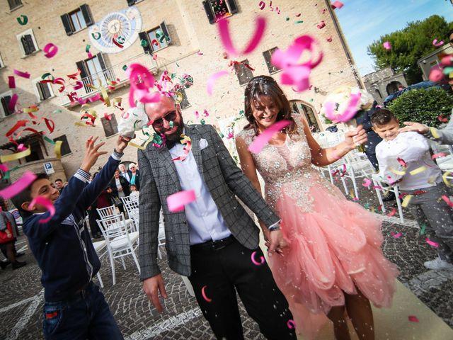 Il matrimonio di Attilio e Loredana a Monteprandone, Ascoli Piceno 19