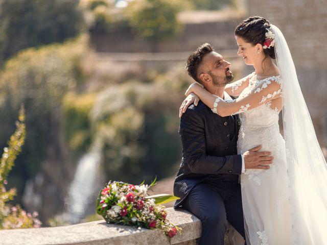 Il matrimonio di Marco e Roberta a Castel Sant'Elia, Viterbo 5