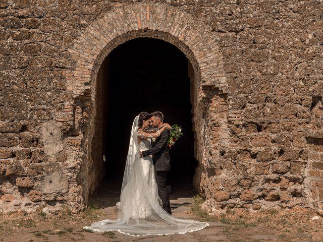 Il matrimonio di Marco e Roberta a Castel Sant'Elia, Viterbo 12