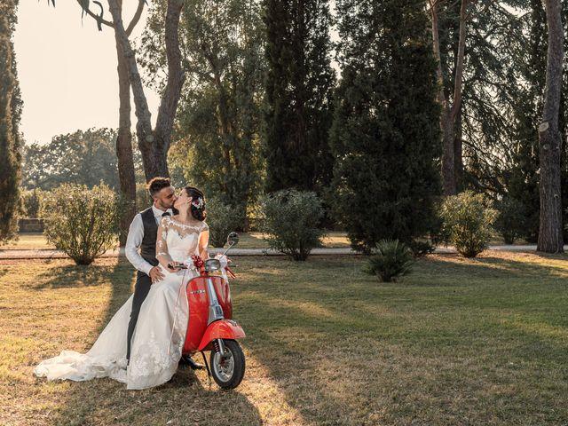 Il matrimonio di Marco e Roberta a Castel Sant'Elia, Viterbo 13