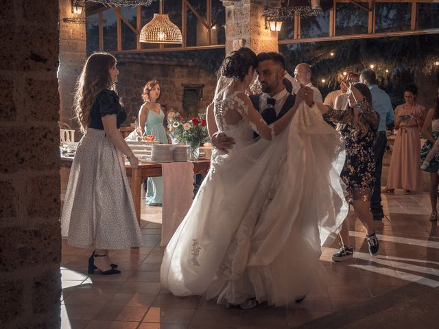 Il matrimonio di Marco e Roberta a Castel Sant'Elia, Viterbo 16