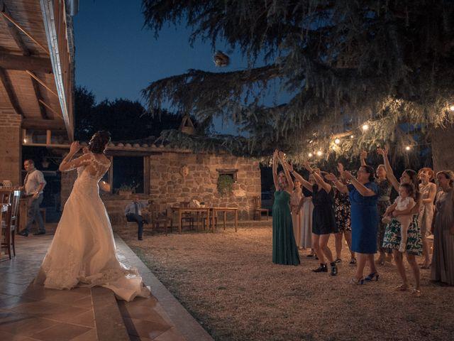 Il matrimonio di Marco e Roberta a Castel Sant'Elia, Viterbo 17