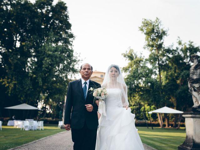 Il matrimonio di Andrea e Yu Ting a Ripalta Cremasca, Cremona 45