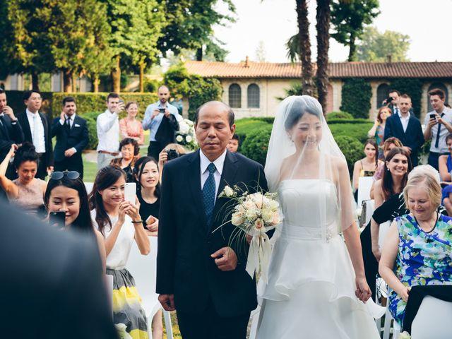 Il matrimonio di Andrea e Yu Ting a Ripalta Cremasca, Cremona 47