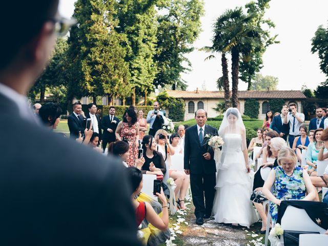 Il matrimonio di Andrea e Yu Ting a Ripalta Cremasca, Cremona 49