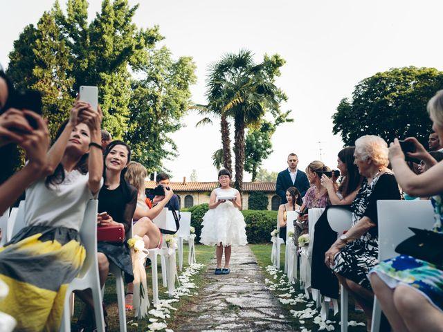 Il matrimonio di Andrea e Yu Ting a Ripalta Cremasca, Cremona 59