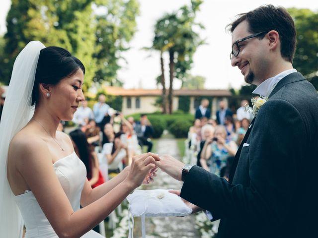 Il matrimonio di Andrea e Yu Ting a Ripalta Cremasca, Cremona 62