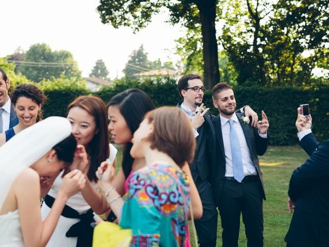 Il matrimonio di Andrea e Yu Ting a Ripalta Cremasca, Cremona 67