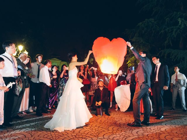 Il matrimonio di Andrea e Yu Ting a Ripalta Cremasca, Cremona 129