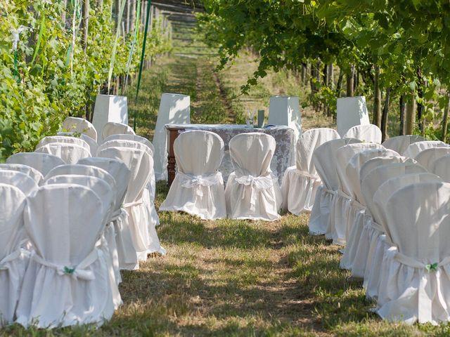 Il matrimonio di Flavia Giustina Fornelli  e Antonio a Cuceglio, Torino 10