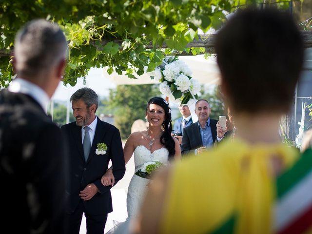 Il matrimonio di Flavia Giustina Fornelli  e Antonio a Cuceglio, Torino 26