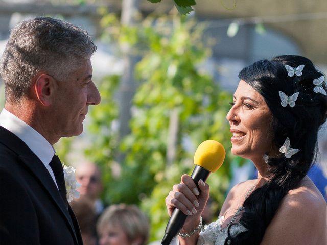 Il matrimonio di Flavia Giustina Fornelli  e Antonio a Cuceglio, Torino 34