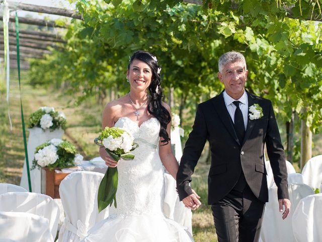 Il matrimonio di Flavia Giustina Fornelli  e Antonio a Cuceglio, Torino 42