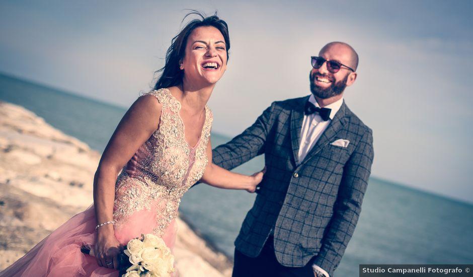 Il matrimonio di Attilio e Loredana a Monteprandone, Ascoli Piceno