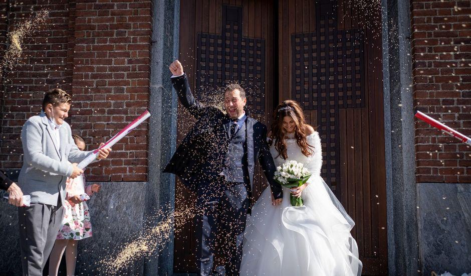 Il matrimonio di alessandro e simona a Boffalora sopra Ticino, Milano
