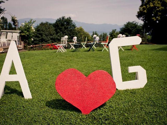 Il matrimonio di Gianluca e Angela a Volpago del Montello, Treviso 2