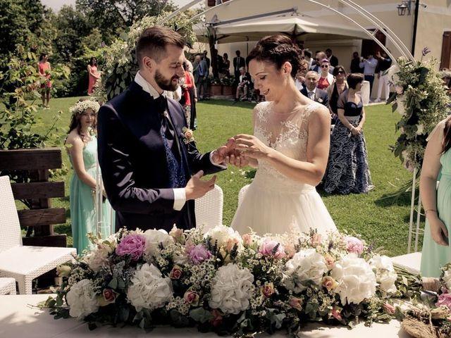 Il matrimonio di Gianluca e Angela a Volpago del Montello, Treviso 15
