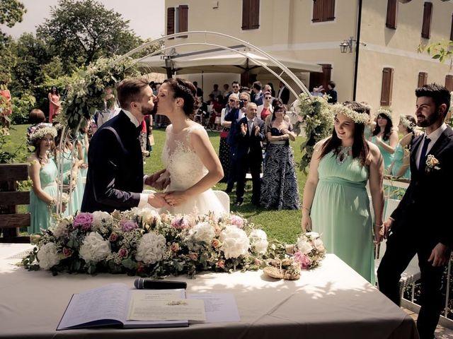 Il matrimonio di Gianluca e Angela a Volpago del Montello, Treviso 16