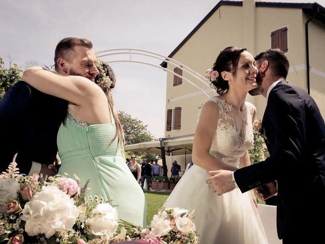 Il matrimonio di Gianluca e Angela a Volpago del Montello, Treviso 17