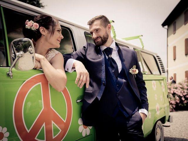 Il matrimonio di Gianluca e Angela a Volpago del Montello, Treviso 32