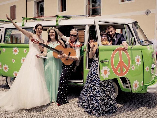 Il matrimonio di Gianluca e Angela a Volpago del Montello, Treviso 33