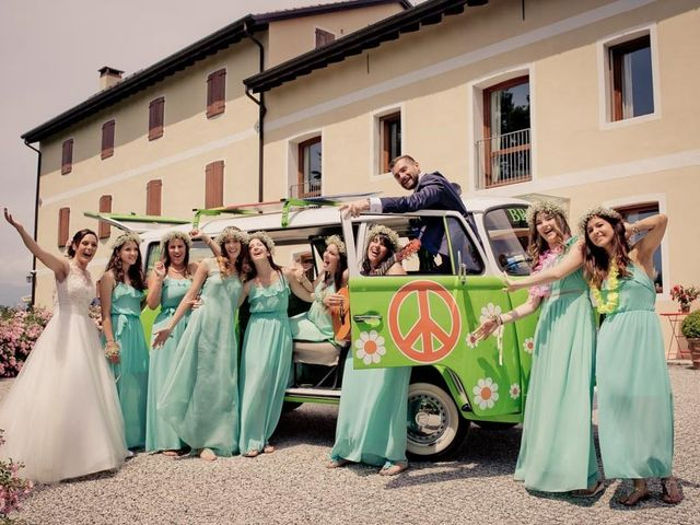 Il matrimonio di Gianluca e Angela a Volpago del Montello, Treviso 34