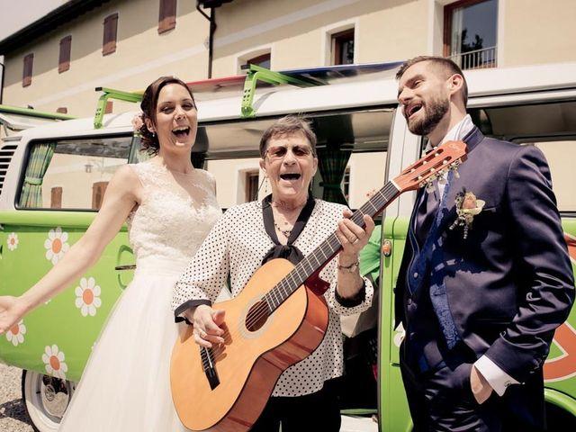 Il matrimonio di Gianluca e Angela a Volpago del Montello, Treviso 35