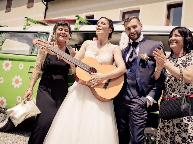 Il matrimonio di Gianluca e Angela a Volpago del Montello, Treviso 36