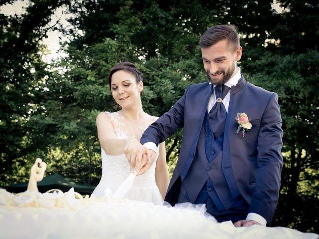 Il matrimonio di Gianluca e Angela a Volpago del Montello, Treviso 47