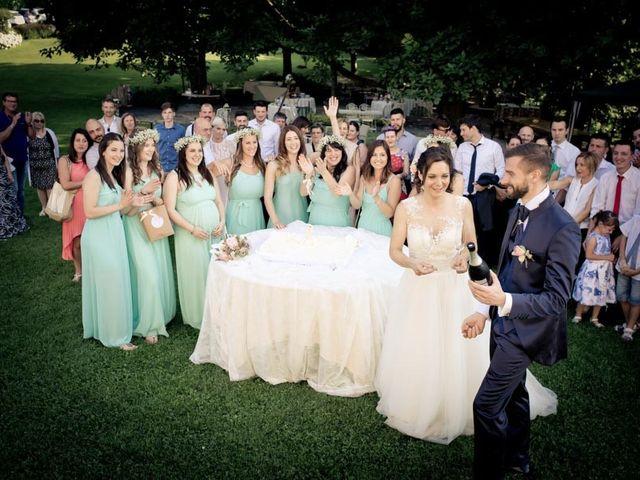 Il matrimonio di Gianluca e Angela a Volpago del Montello, Treviso 48