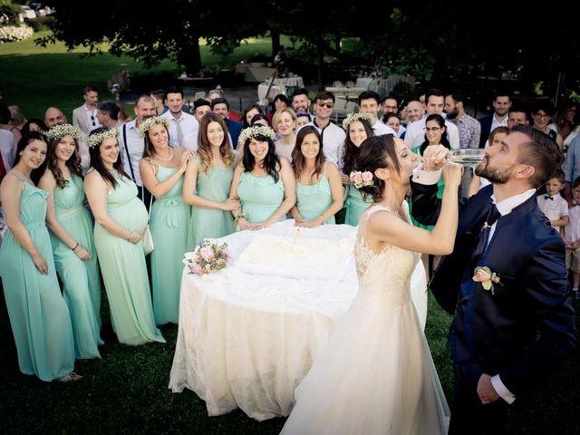 Il matrimonio di Gianluca e Angela a Volpago del Montello, Treviso 49