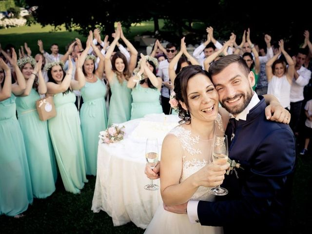 Il matrimonio di Gianluca e Angela a Volpago del Montello, Treviso 1