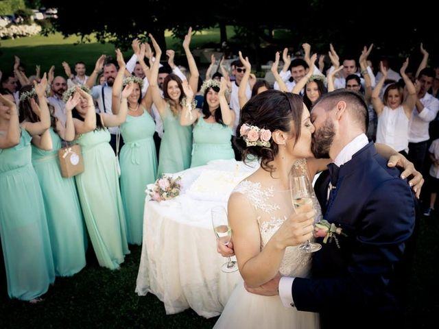 Il matrimonio di Gianluca e Angela a Volpago del Montello, Treviso 50