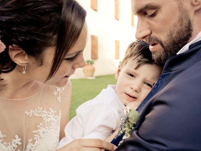 Il matrimonio di Gianluca e Angela a Volpago del Montello, Treviso 57