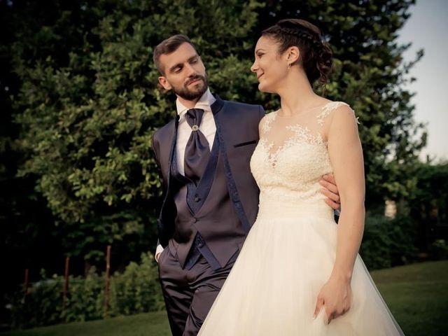 Il matrimonio di Gianluca e Angela a Volpago del Montello, Treviso 76