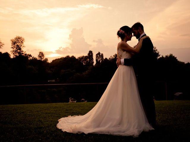 Il matrimonio di Gianluca e Angela a Volpago del Montello, Treviso 79