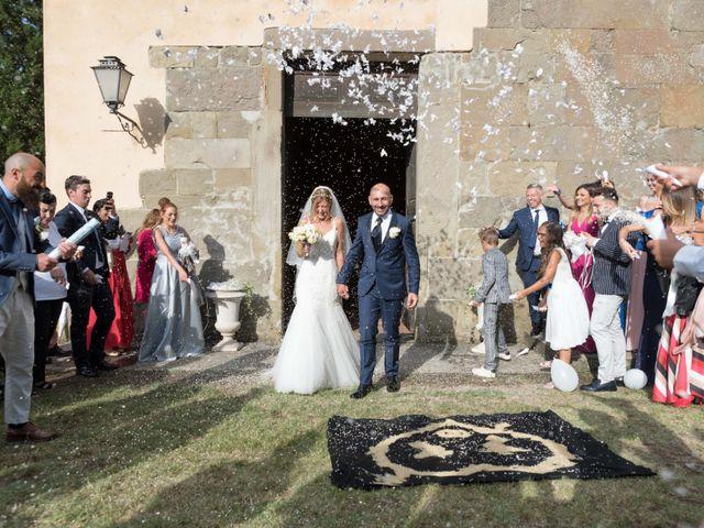 Il matrimonio di Leonardo e Caterina a Carmignano, Prato 15