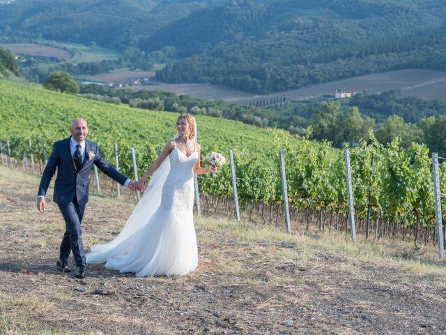 Il matrimonio di Leonardo e Caterina a Carmignano, Prato 16