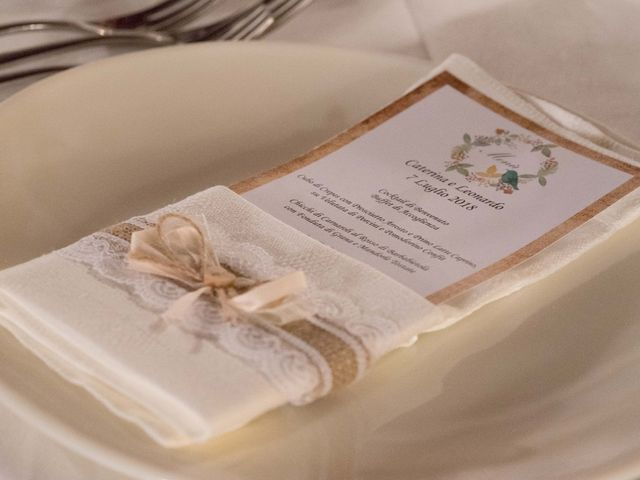 Il matrimonio di Leonardo e Caterina a Carmignano, Prato 28