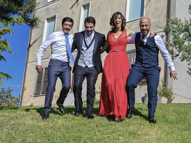 Il matrimonio di Davide e Serena a Castignano, Ascoli Piceno 23