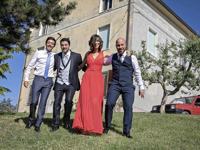 Il matrimonio di Davide e Serena a Castignano, Ascoli Piceno 24