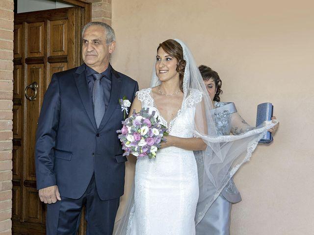 Il matrimonio di Davide e Serena a Castignano, Ascoli Piceno 32