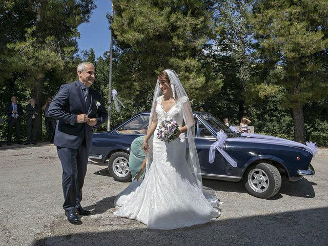 Il matrimonio di Davide e Serena a Castignano, Ascoli Piceno 33