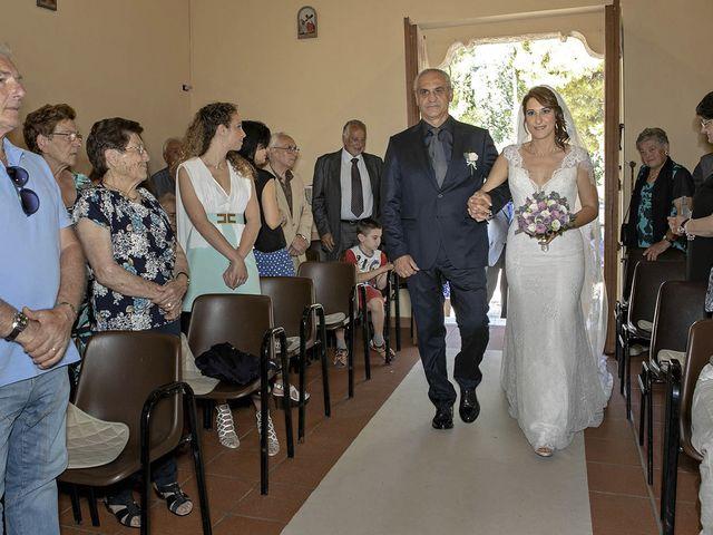 Il matrimonio di Davide e Serena a Castignano, Ascoli Piceno 34