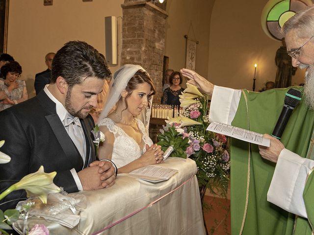 Il matrimonio di Davide e Serena a Castignano, Ascoli Piceno 38