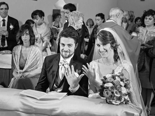Il matrimonio di Davide e Serena a Castignano, Ascoli Piceno 40