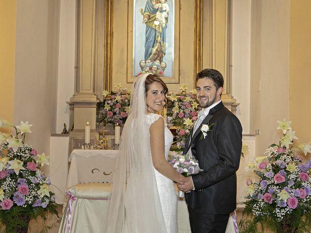 Il matrimonio di Davide e Serena a Castignano, Ascoli Piceno 42