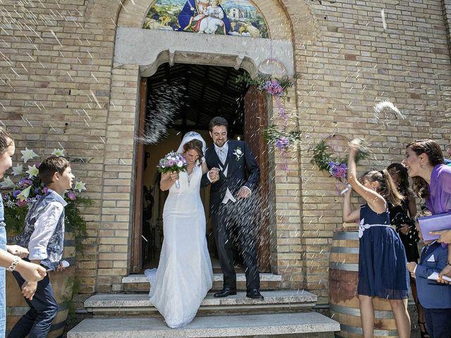 Il matrimonio di Davide e Serena a Castignano, Ascoli Piceno 44