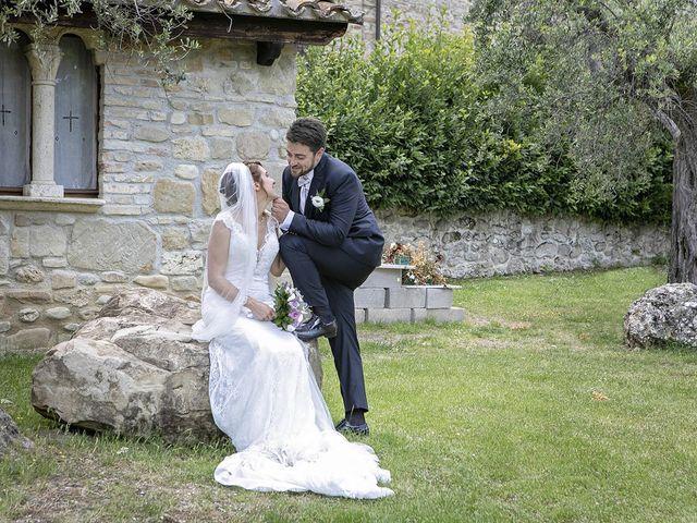 Il matrimonio di Davide e Serena a Castignano, Ascoli Piceno 47