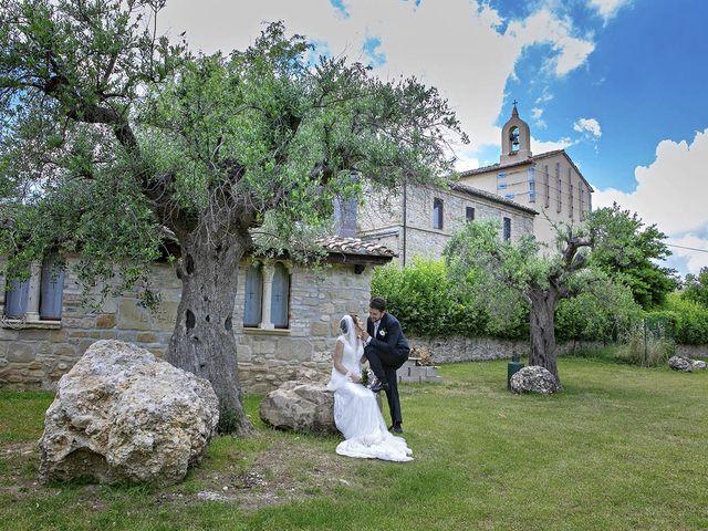 Il matrimonio di Davide e Serena a Castignano, Ascoli Piceno 48